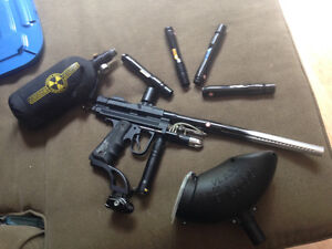 Competition paintball gun/ barrel kit
