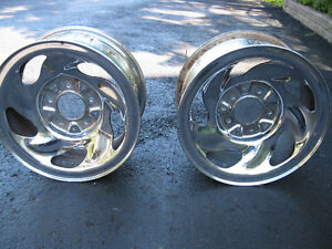 PAIR  OF  RIMS  FROM  FORD  TRUCK