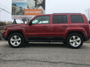 2011 Jeep Patriot 156km. Overhauled with Safety Ottawa $6450