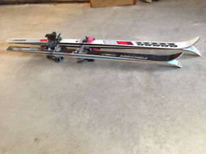 Downhill Skis (2 pair) with bindings