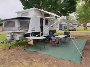 Caravan hire - Jayco Expander
