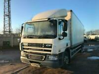DAF TRUCKS CF 65.220 Box Tail.....PLAN B SALE NOW ON CALL FOR DETAILS