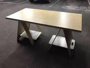 IKEA Trestle Table - 75cm x 151cm West Melbourne Melbourne City Preview