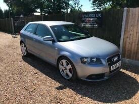 2006/56 Audi A3 2.0TDI S-LINE [170] S-Tronic Service History P/X Welcome
