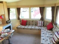 cheap used static caravan trecco bay parkdean, not bourne not haven south wales, wales