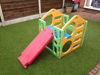 Toddlers climbing frame