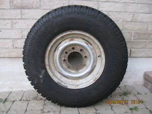 1 Unused Tire with Rim LT235/85R16