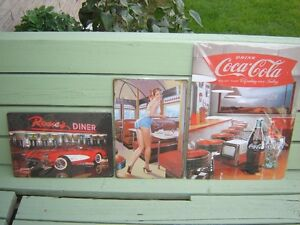 3 NEW METAL PICTURES/COLLECTIBLES London Ontario image 1