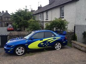 Subaru Impreza rally replica