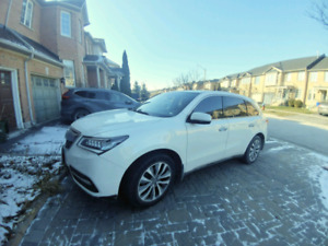 Acura MDX 2016 lease take over