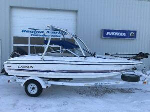 2003 Larson 180 with a Evinrude 135 Hp DI.
