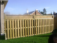 DISCOUNTED FENCE DECK AND POST HOLE