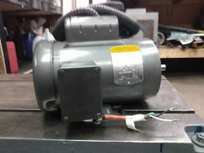 Baldor 1 Hp Single Phase Tefc Electric Motor