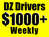 $21.50/hr* DZ Drivers PERMANENT CAREERS!