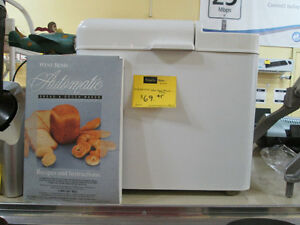 West Bend Bread Maker For Sale At Nearly New Port Hope
