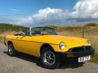1978 T MGB 1.8 Roadster Overdrive Inka Yellow for sale in AYRSHIRE