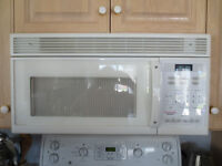 Daewoo over the range Microwave oven, white