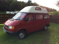 VW T4 Campervan Motorhome in A1 cond & all mod cons. 56k, 2 owners, MOT, P plate. ONO