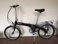 "Dahon Eco C7 Folding Bike 20"" wheels (almost new) - black"