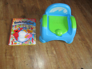 kids11 potty and elmos potty book