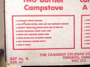 "COLEMAN ""EASI-LITE"" CAMP STOVE Cornwall Ontario image 6"