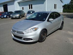 2013 DODGE DART SXT 4DR SILVER IN COLOR $6995  PLUS HST