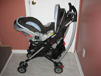 Baby Carriage with Car Seat & Other Baby Items