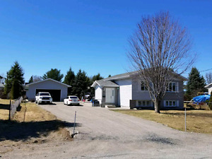 Beautiful Dowling  home with large detached garage