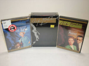 ALFRED HITCHCOCK Collector's Edition Box Set and DVDs