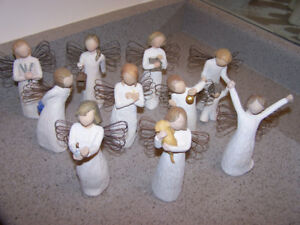 10 WILLOW TREE ANGEL figurines by Susan Lordi