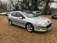 2006 Peugeot 407 SW 2.0HDi Zenith 6 Months MOT Service History