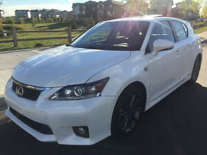 2012 Lexus CT Hybrid F Sport Price Reduced!