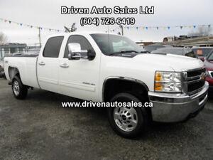 2011 Chevrolet Silverado 3500 Diesel Allison 4x4 Pickup Truck