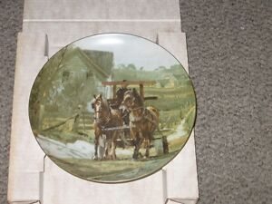 COLLECTIBLE PLATES - Peter Snyder London Ontario image 1