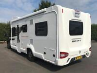 2018 Fiat Swift Bessacarr 596 Motorhome 2.3 130bhp PAS