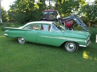 classic 1959 chev biscayne