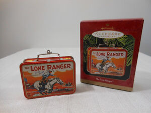 1997 HALLMARK THE LONE RANGER TIN LUNCHBOX WITH BOX