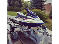 Sea Doo 1996 GSX w Cover and trailer  -  Great condition