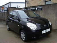10 60 REG KIA PICANTO 1.0 5DR ONLY 18282 MILES £30 ROADTAX DESIGNER SEATS