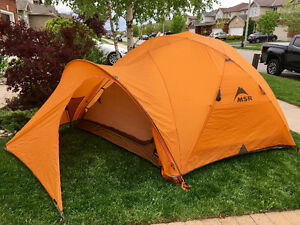 MSR StormKing 4 season, 5 person expedition tent with footprint