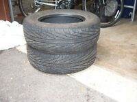 2 Summer Tires, Good Condition