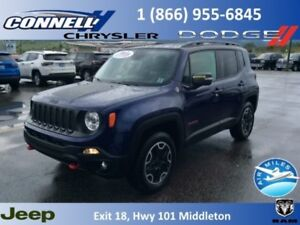 2017 Jeep Renegade Trailhawk  - Bluetooth - $176.69 B/W