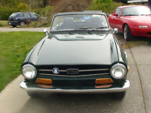 VERY RARE 1969 TRIUMPH TR6 ( FIRST YEAR OF PRODUCTION )