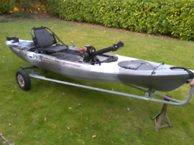 Kayak - Wilderness systems Radar 135 with Helix pedal drive