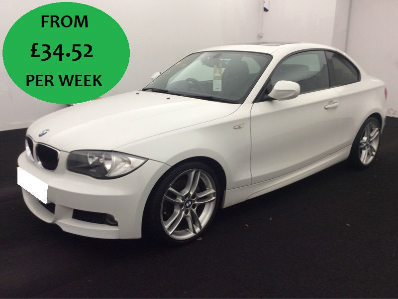 £148.43 PER MONTH 2009 BMW 120D 2.0 TD AUTO M SPORT STEP COUPE 2 DOOR DIESEL