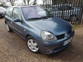 Renault Clio 1.2 16v Dynamique, Drives Very Nicely, Mot'd Hpi Clear, Sunroof Etc