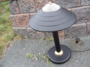 Black Metal Electric Desk Table Lamp