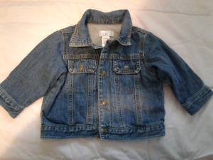 The Children's Place Baby Denim Lined Jacket- 12 months