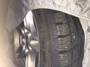 BMW wheels and snow tires style 66 M rims Strathcona County Edmonton Area image 3