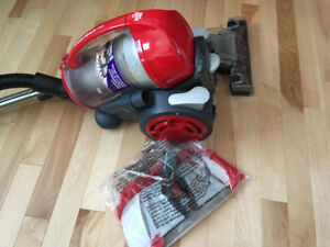 Dirt Devil canister vacuum - nearly new.